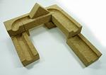 コルク積み木玉の塔展開例3