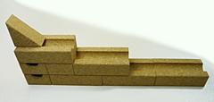 コルク積み木玉ころころ展開例階段